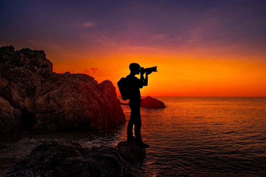фотография,закат